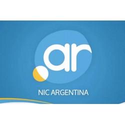 Registro Dominio .COM.AR anual